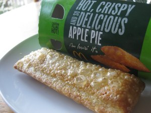 Deep-fried Apple Pies. A morning staple.