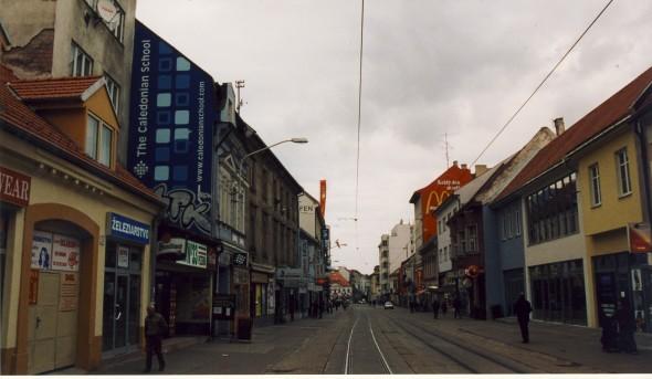 Obchodna Street, October 2002.