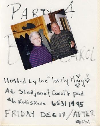 2 Bill & Carol's party