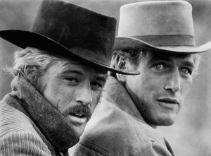 Butch Cassidy (Right) with the Sundance Kid