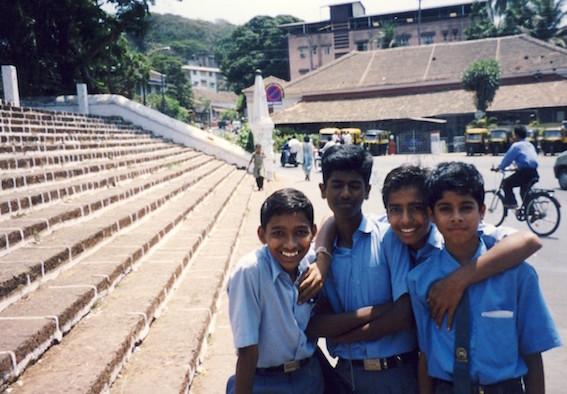 Panjim School kids