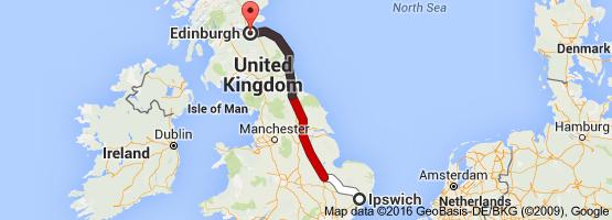8 Ipswich to Edinburgh