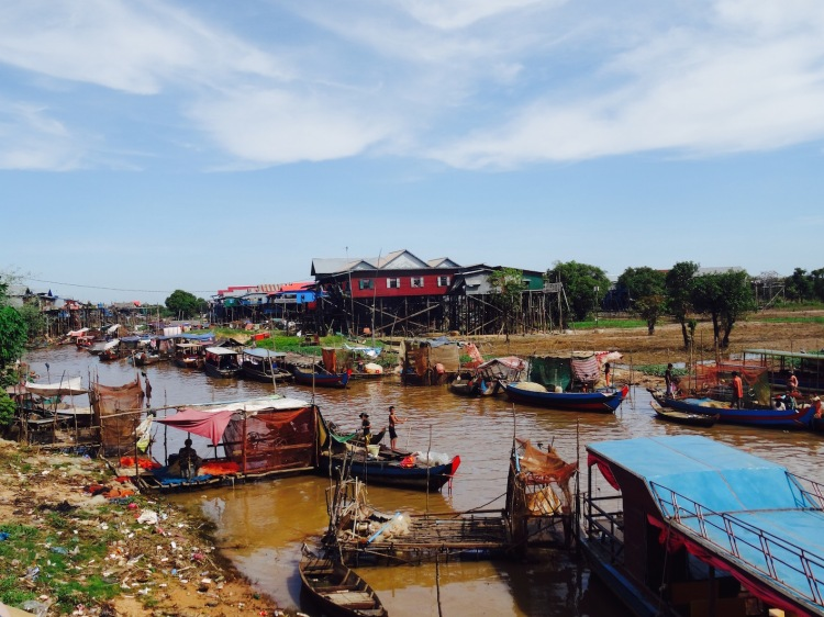 Kampong Phluk floating village Siem Reap