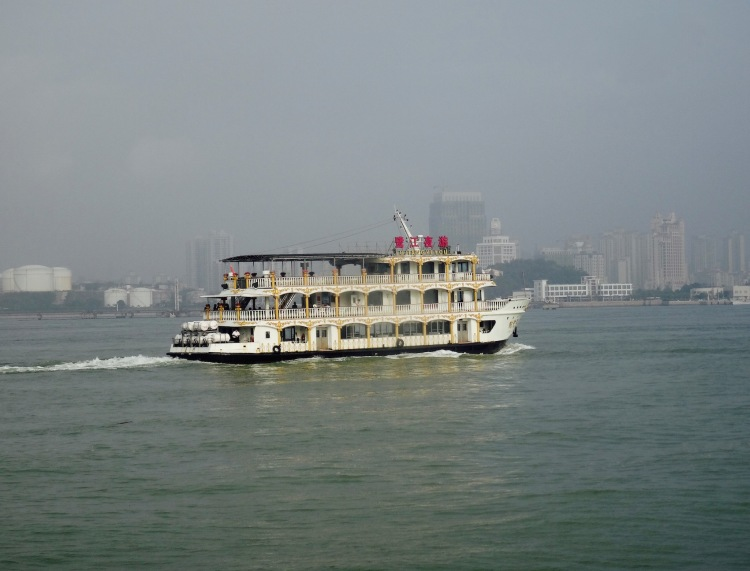 Ferry to Gulangyu Island Xiamen Fujian province China