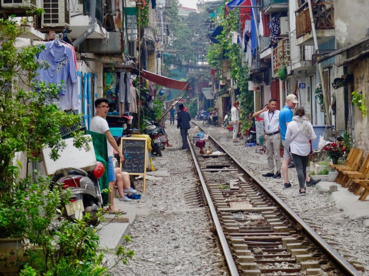 Hanoi Train Street, Vietnam