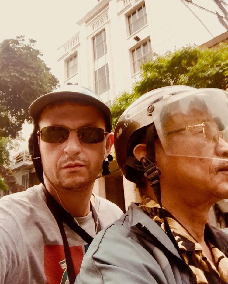 Motorbike taxi, Hanoi