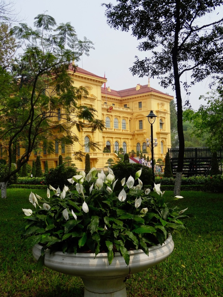The Presidential Palace Hanoi