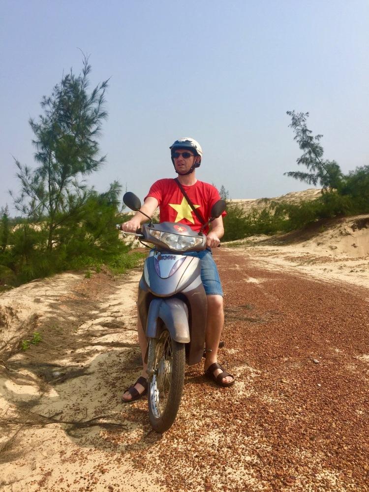 Quang Phu Sand Dunes Dong Hoi Vietnam