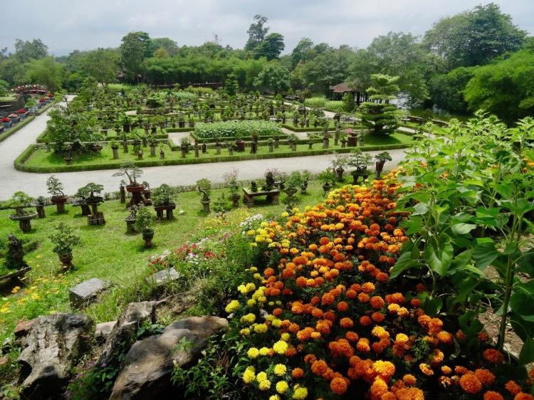Bonsai garden The Imperial City Hue Vietnam