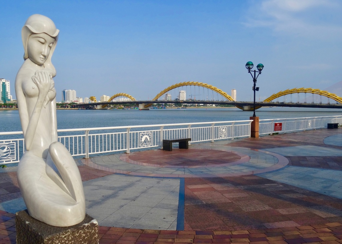 Dragon Bridge Danang Vietnam