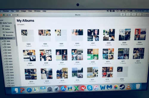 iPhoto library macbook
