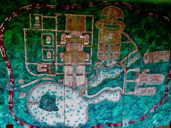 map Imperial City Hue Vietnam
