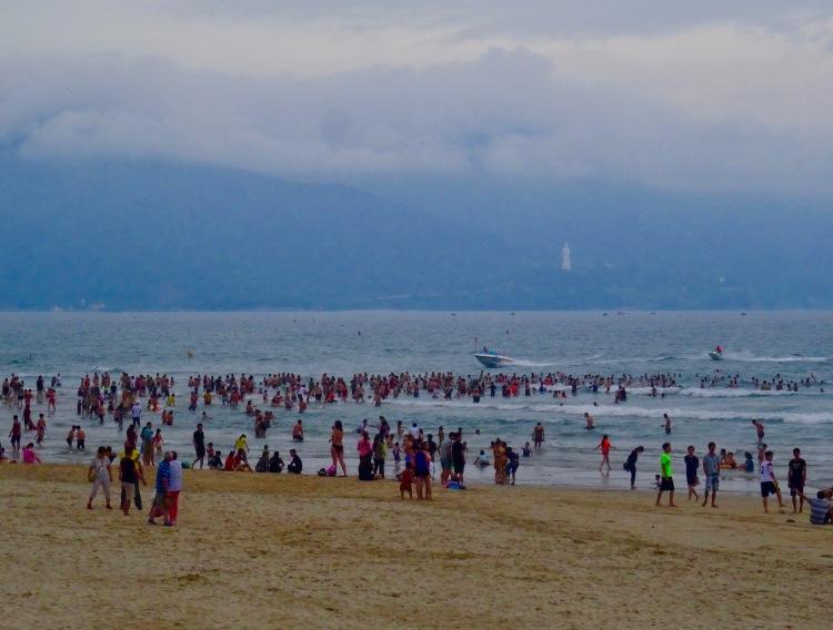 My Khe Beach Danang coast Vietnam
