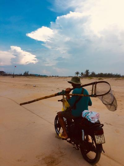 Non Nuoc Beach Danang coast Vietnam