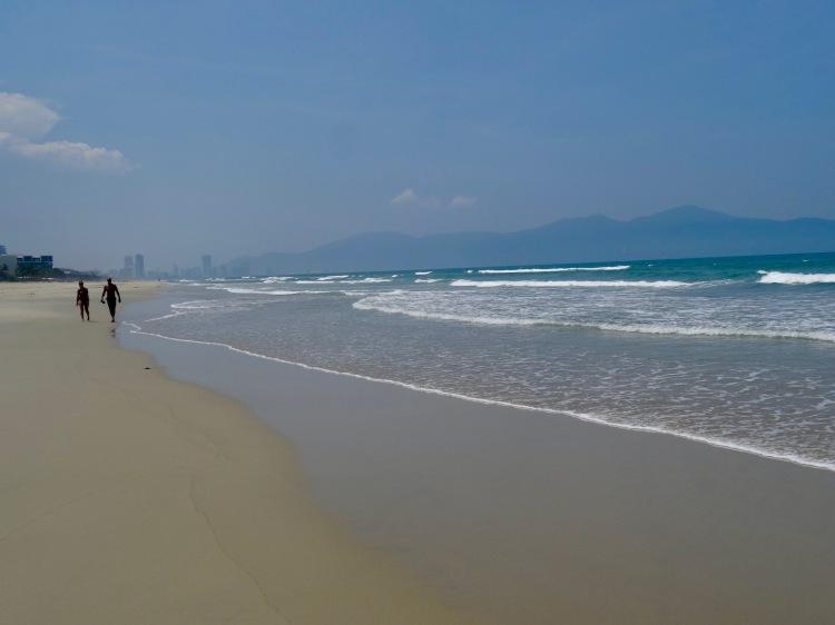 Non Nuoc Beach Danang Coastline Vietnam,