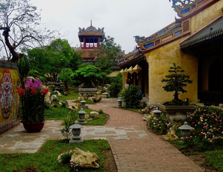 Royal Gardens Imperial City Hue Vietnam
