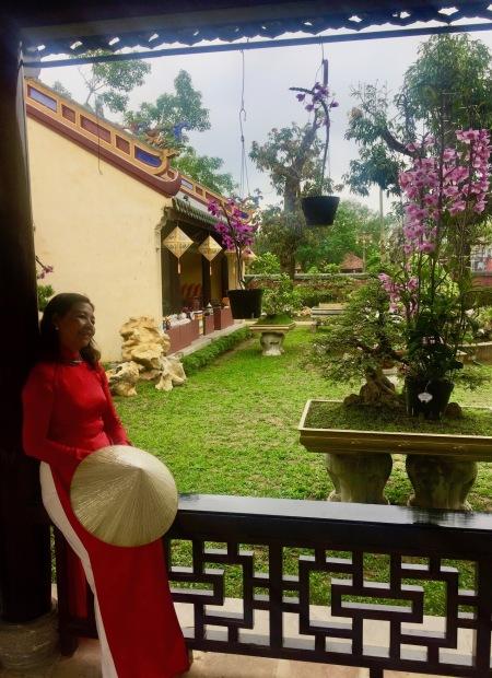 Royal Gardens Imperial City Hue Vietnam