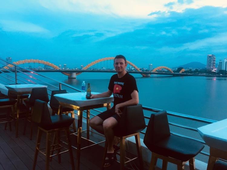 The Happy Yacht Danang top deck