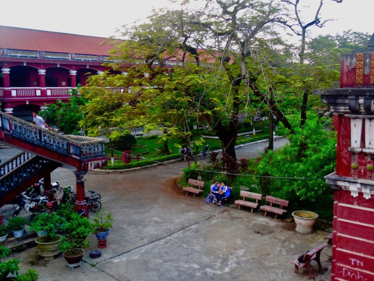 The National School Truong Quoc Hoc Hue Vietnam