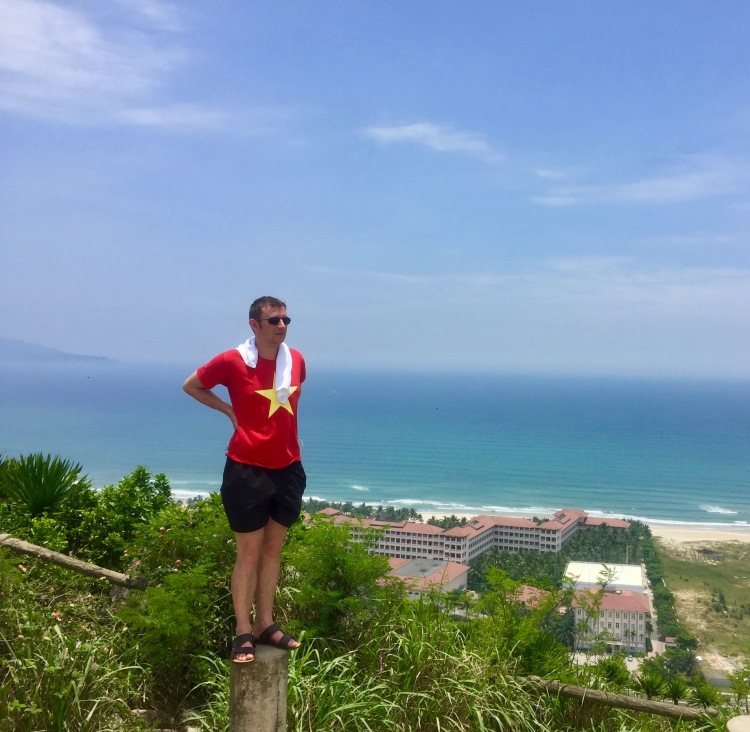 View from Marble Mountain Danang