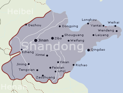 Visit Shandong province China