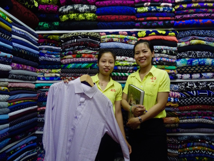 45 Cloth Shop Hoi An Central Market Vietnam
