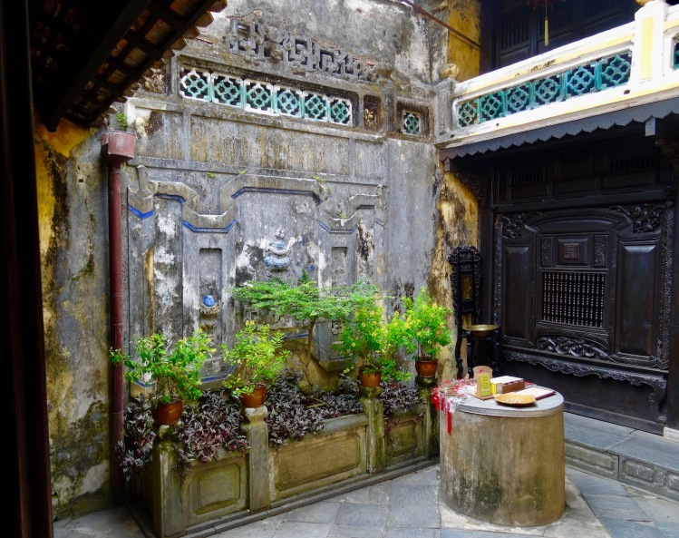 Courtyard Tan Ky House Hoi An Vietnam