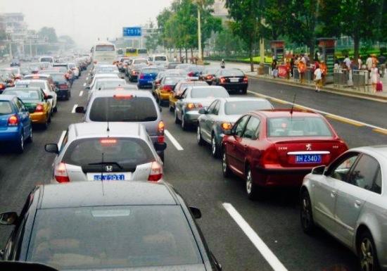 Bad traffic Beijing