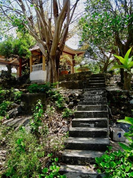 Bai Huong Temple Bai Huong Village Cham Island.