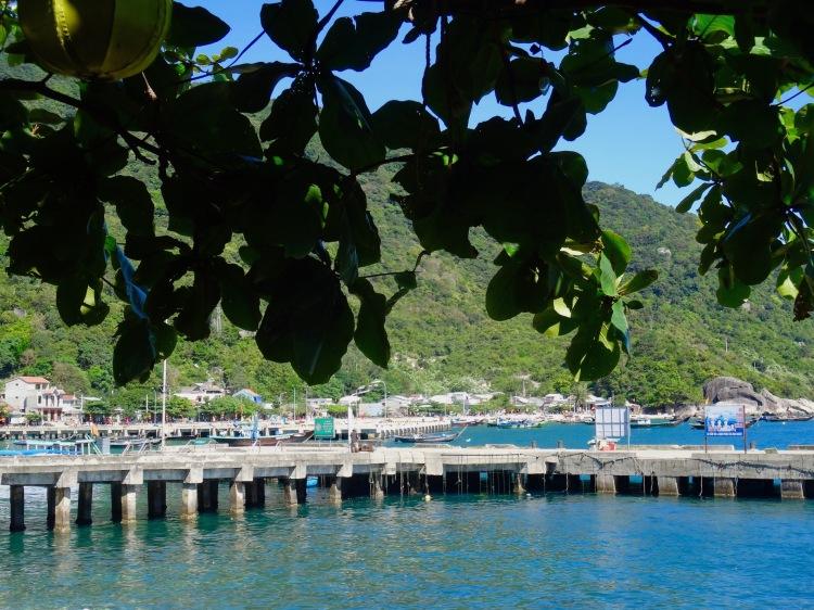 Bai Lang Pier Cham Island Vietnam