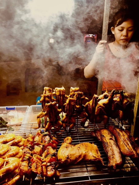 Barbecue meat sticks Hoi An Night Market
