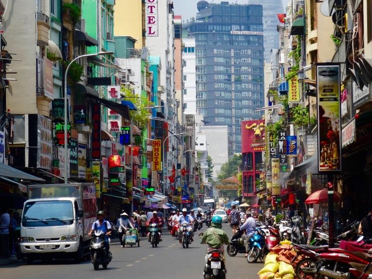 Bui Vien Street Ho Chi Minh Vietnam