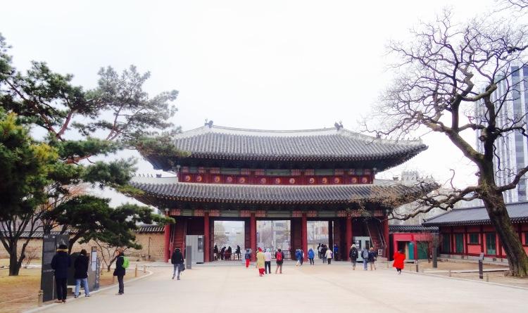 Changdeokgung Palace Seoul Korea