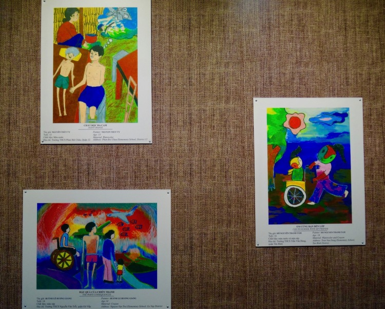 Children's Art Gallery The War Remnants Museum Ho Chi Minh Vietnam