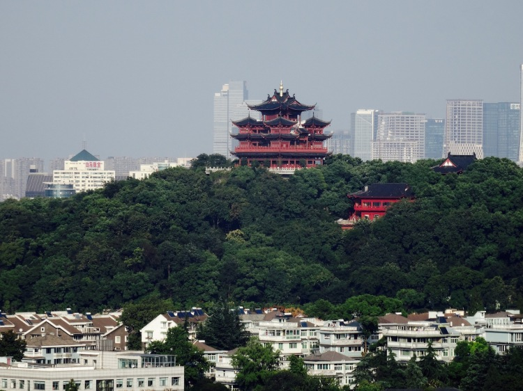 City God Pavilion Wushan Hill Hangzhou China