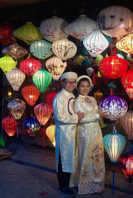 Colorful lanterns Hoi An Night Market Vietnam