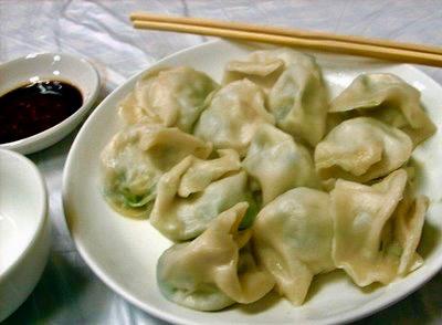 Dumplings Daguan Gardens Jinan Shandong province China