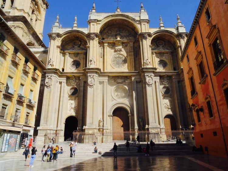 Exterior Granada Cathedral Spain