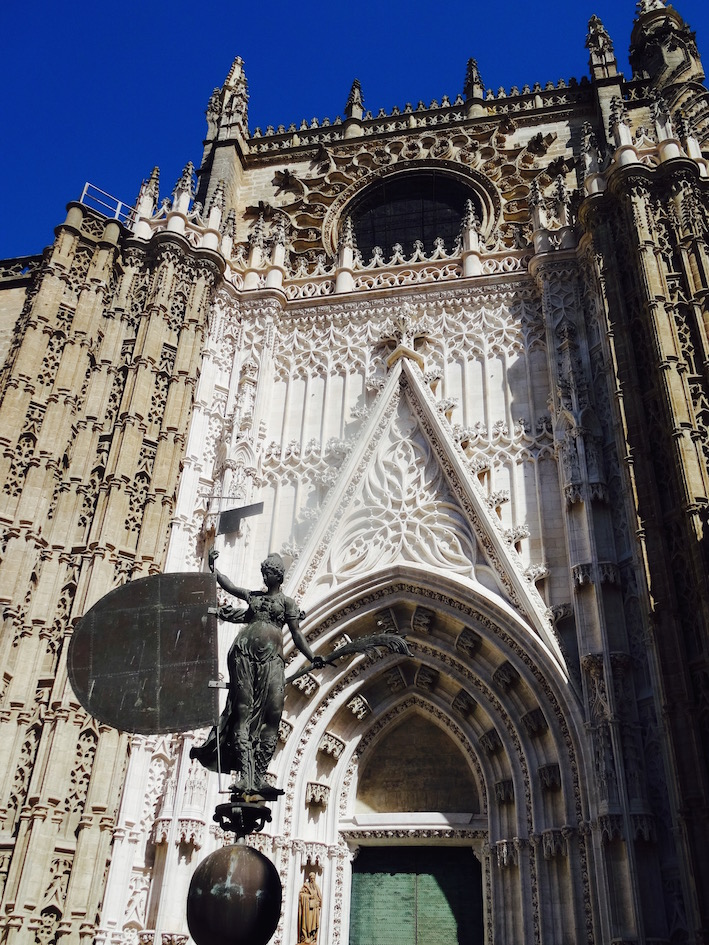 Exterior Seville Cathedral Spain