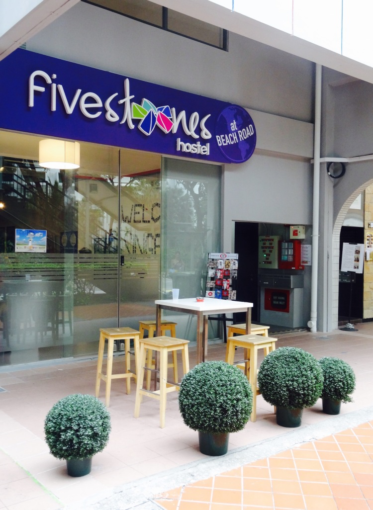 Five Stones Hostel Beach Road Singapore