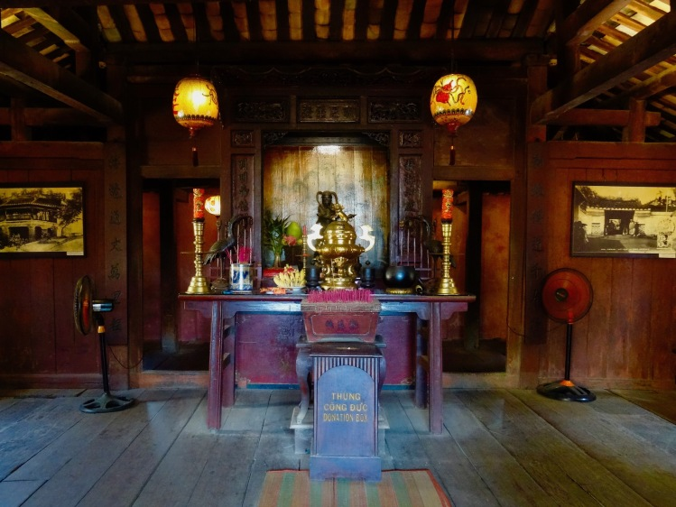 God of Weather shrine Japanese Covere Bridge Hoi An Vietnam
