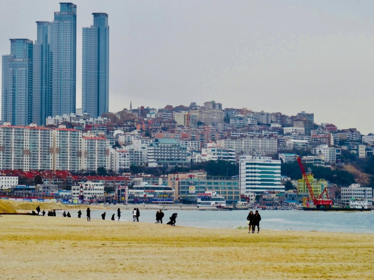 Haeundae Beach Busan Korea