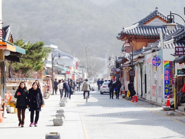 Hanok Maeul Jeonju Korea