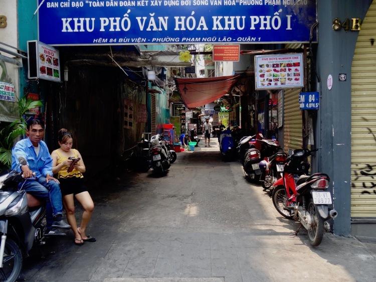 Hem 84 off Bui Vien Street Ho Chi Minh Vietnam