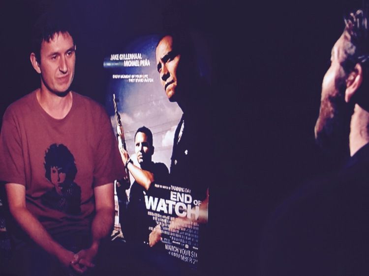Jake Gyllenhaal interview End of Watch New York City