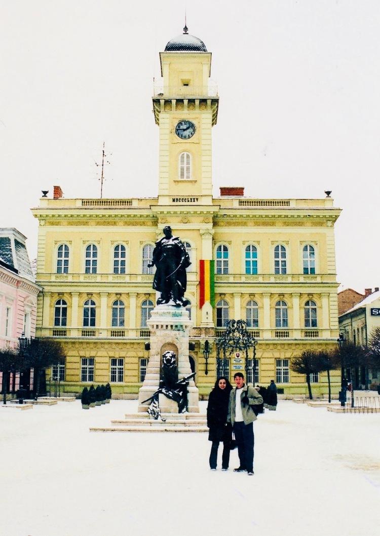 Klapka Square Komarno Slovakia