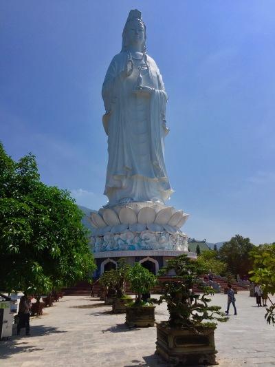 Lady Buddha Monkey Mountain Danang Vietnam