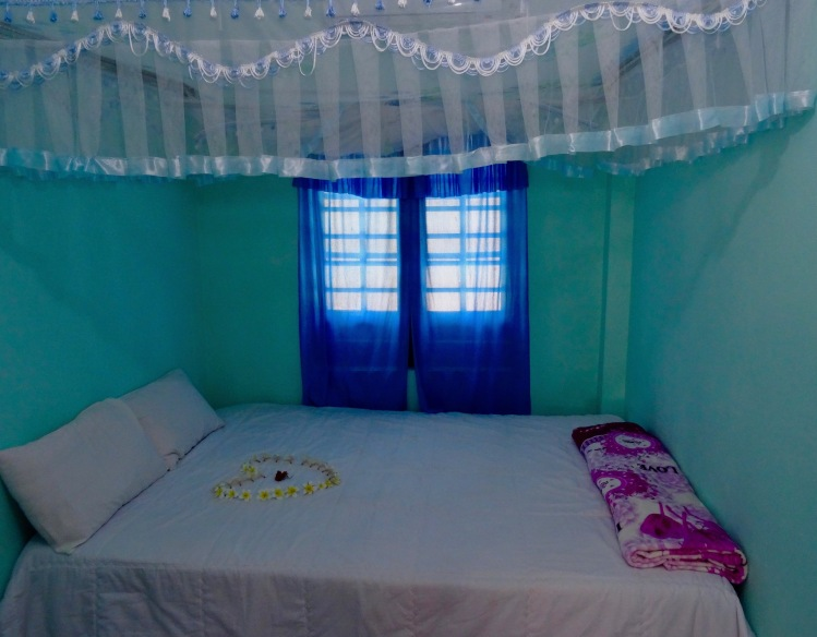 Bedroom Lau Thu Homestay Bai Huong Village Cham Island Vietnam