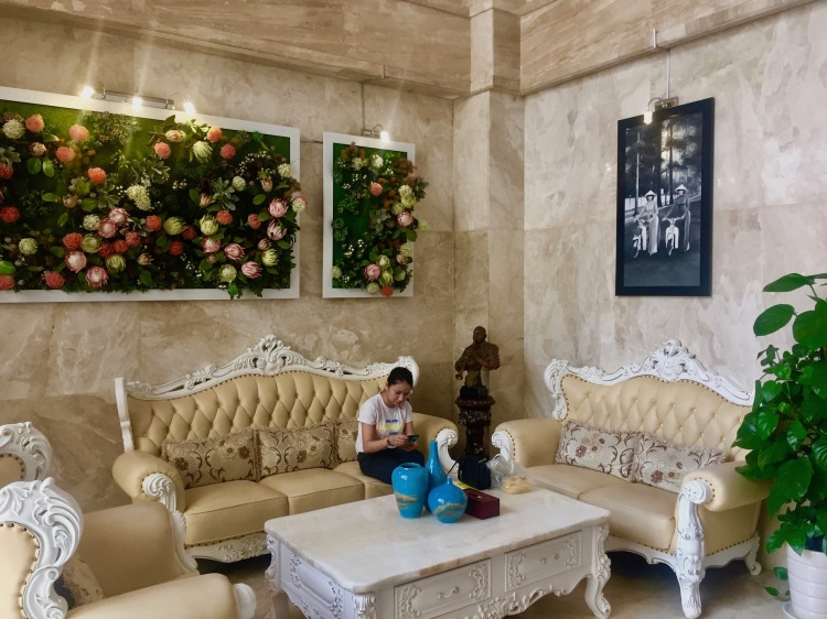 Lobby Lotus Boutique Hotel Ho Chi Minh Vietnam