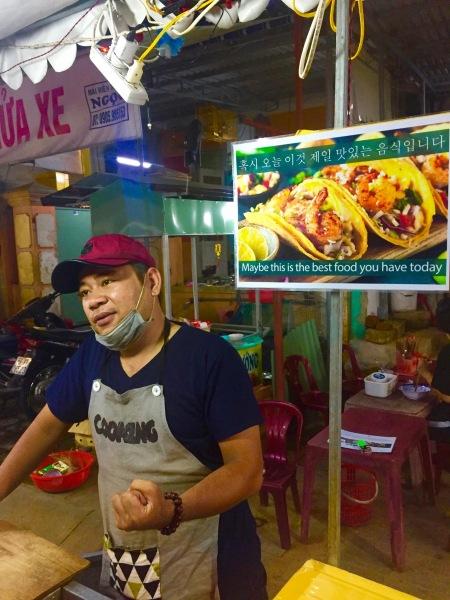 Mexican food stall Hoi An Night Market Vietnam